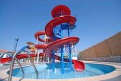De dia's van Aquapark Royalty-vrije Stock Afbeelding