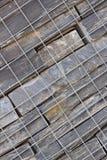 De Diagonaal van de Behoudende Muur van de steen Stock Foto's