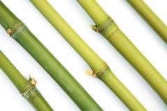 De diagonaal van het bamboe stock afbeeldingen