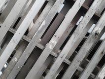 De diagonale lijnkruisen in verscheidene rechthoekige vormen Royalty-vrije Stock Fotografie