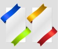 De diagonale stroken van de kleurenzijde Royalty-vrije Stock Fotografie