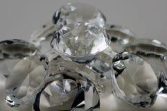 De diamanten ontruimen Stock Foto's