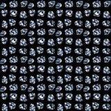 De diamantengemmen van halfedelstenen Stock Fotografie