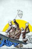 De diamantenvangers van de straatkunst Royalty-vrije Stock Afbeelding