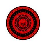 de diameter los muertosstämpel Arkivbilder