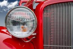 1934 de dichte omhooggaande mening van Chevrolet Royalty-vrije Stock Afbeelding