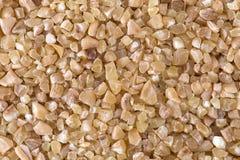 De dichte omhooggaande textuur van de tarwehavermoutpap Royalty-vrije Stock Fotografie