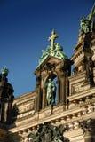 De dichtere mening van de Kathedraal van Berlijn Stock Foto