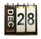 28 de diciembre stock de ilustración