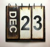 23 de diciembre imagen de archivo libre de regalías