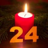 24 de diciembre Imagenes de archivo