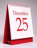 25 de diciembre Imagen de archivo libre de regalías