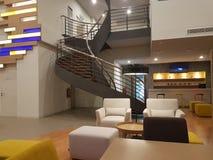 15 de diciembre de 2016 Kuala Lumpur La mirada interior del hotel Ibis diseña Sri Damansara Imagen de archivo