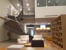 15 de diciembre de 2016 Kuala Lumpur La mirada interior del hotel Ibis diseña Sri Damansara Imagen de archivo libre de regalías