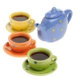 De dienst met koffie Royalty-vrije Stock Afbeeldingen
