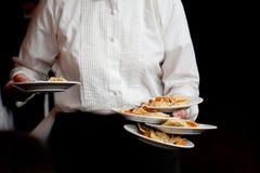 De dienst van het diner Stock Foto