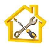 De dienst van het huis stock illustratie