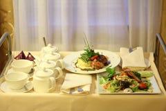 De dienst van het voedsel Royalty-vrije Stock Foto's