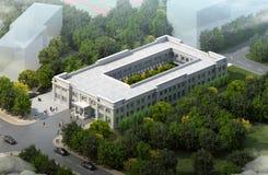 De dienstcentrum Royalty-vrije Stock Afbeelding