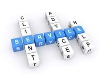 De dienstillustratie  Stock Foto's