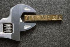 De dienstmoersleutel Stock Afbeelding