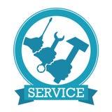 De dienstvector stock illustratie