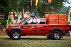 De dienstvoertuig van de brand stock fotografie