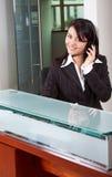 De dienstvrouw van de klant Royalty-vrije Stock Foto's