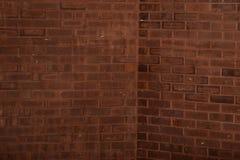 De diepe Donkere Achtergrond van de Baksteen Abstracte Textuur Stock Afbeelding