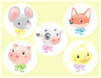 De Dieren van de baby Stock Afbeeldingen