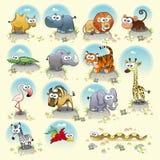 De dieren van de savanne. Royalty-vrije Stock Afbeelding