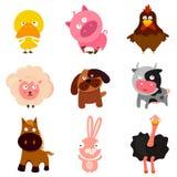 De dieren van het landbouwbedrijf Stock Fotografie