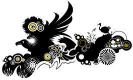De dieren van het ornament vector illustratie
