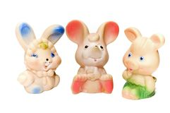 De dieren van het stuk speelgoed royalty-vrije stock afbeelding