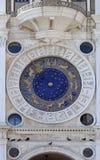 De Dierenriemklok van Venetië Stock Afbeelding