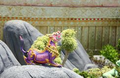 De dierenstandbeeld van Himmapan Stock Foto