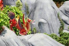 De dierenstandbeeld van Himmapan Royalty-vrije Stock Afbeelding