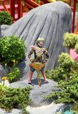 De dierenstandbeeld van Himmapan Stock Afbeeldingen