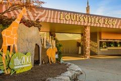 De Dierentuin van Louisville Stock Afbeeldingen