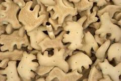 De dierlijke Crackers sluiten Royalty-vrije Stock Afbeeldingen