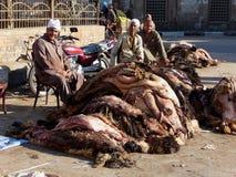 De dierlijke huiden van Eid al-Adha Stock Foto
