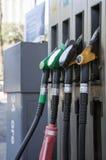 De diesel pompen van de benzine en Royalty-vrije Stock Afbeelding