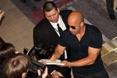 De Diesel van Vin van de acteur in Moskou   Royalty-vrije Stock Fotografie