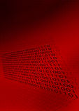 De digitale Achtergrond van de Binaire Code Royalty-vrije Stock Afbeeldingen