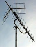 De digitale Antenne van TV Royalty-vrije Stock Afbeeldingen