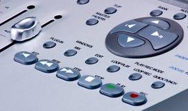 De digitale Controle van het Vervoer van de Mixer Royalty-vrije Stock Afbeeldingen