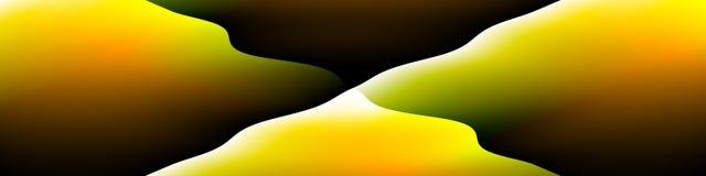 De digitale kunst, vat driedimensionele voorwerpen met zachte verlichting samen vector illustratie