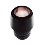 De digitale lens van de camera autonadruk Royalty-vrije Stock Foto's