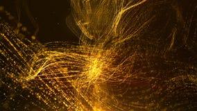De digitale Ruimtedeeltjes van Cyber Royalty-vrije Stock Foto's