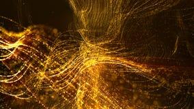 De digitale Ruimtedeeltjes van Cyber Royalty-vrije Stock Foto